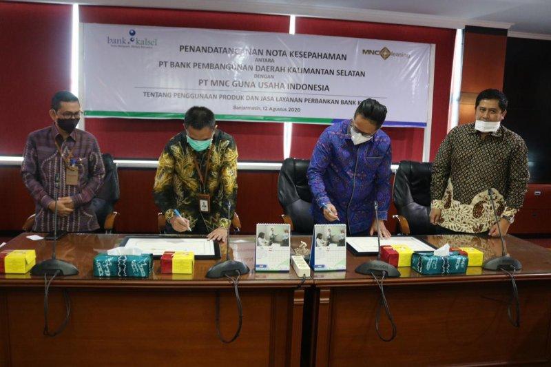 Bank Kalsel gandeng MNC Guna Usaha Indonesia genjot kredit usaha