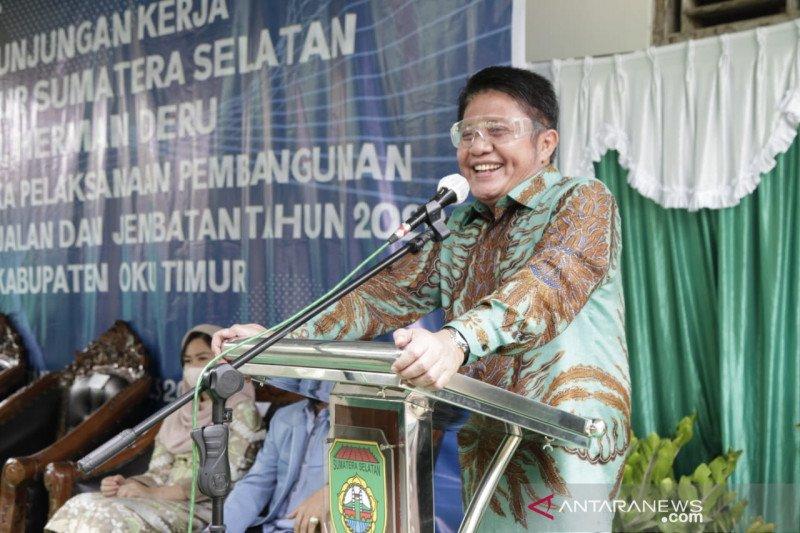Gubernur Sumsel apresiasi  pemberian remisi tahanan Hari Kemerdekaan