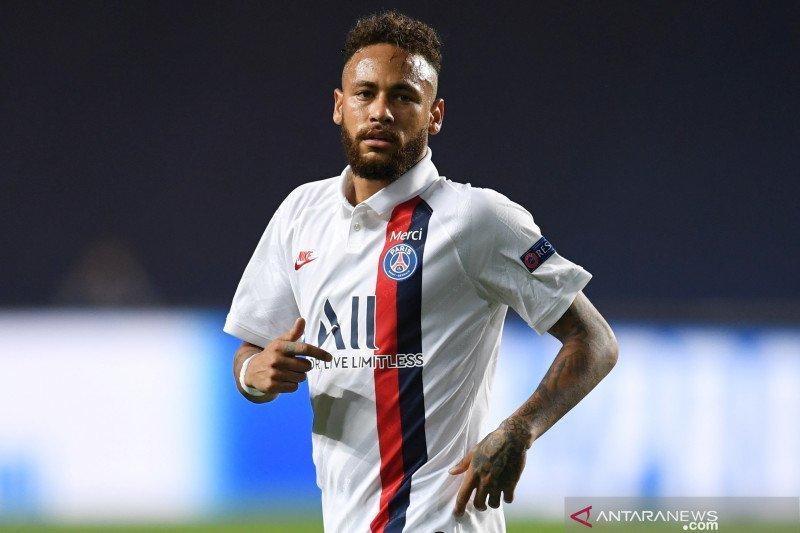 Neymar menyamai rekor Lionel Messi di Liga Champions