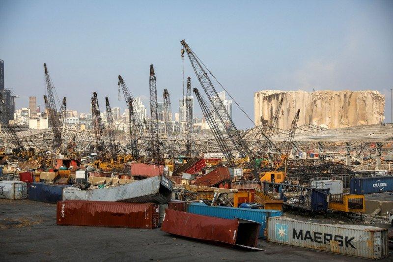 Militer Lebanon menemukan 1,3 ton kembang api  di pelabuhan Beirut