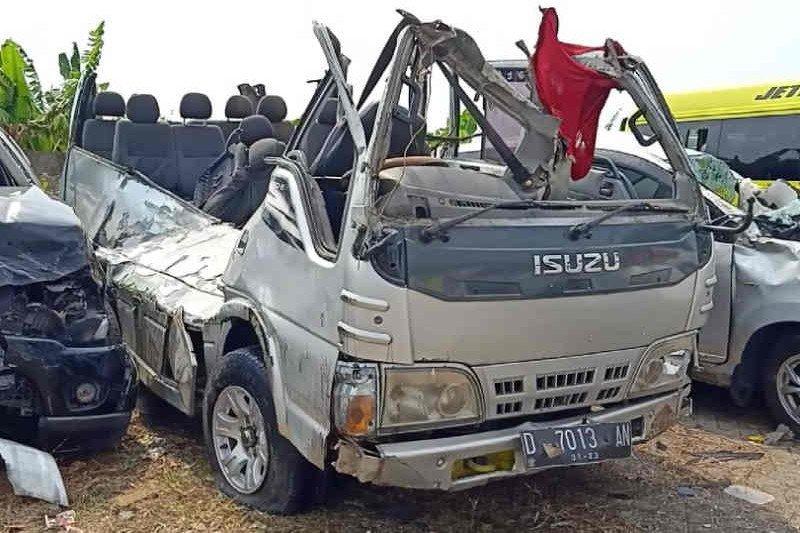 Polisi Cirebon: Bus Elf kecelakaan di Tol Cipali tidak laik jalan