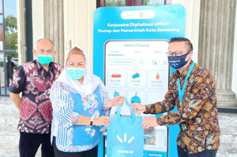 Youtap bekerja sama dengan Pemkot Semarang digitalisasi pelaku UMKM