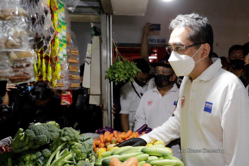 Mendag imbau pedagang pasar Cimahi patuhi protokol kesehatan
