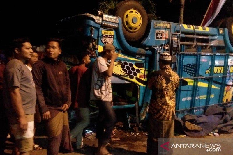 Tujuh orang meninggal akibat kecelakaan beruntun di Jember