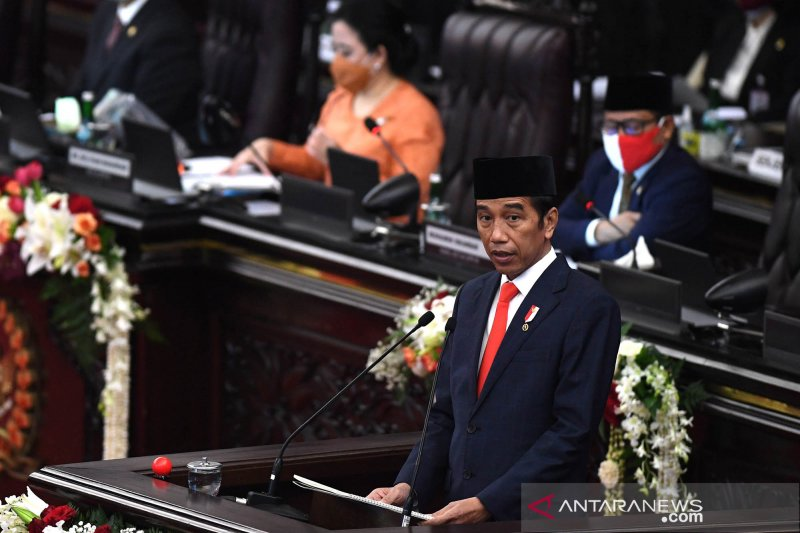 2021 draft budget aimed at restoring economy: Jokowi