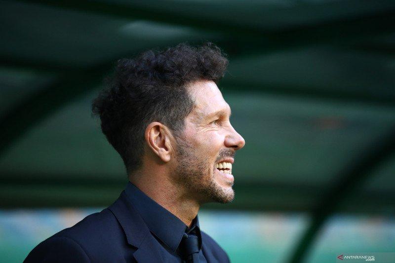 Diego Simeone dilaporkan positif tertular COVID-19