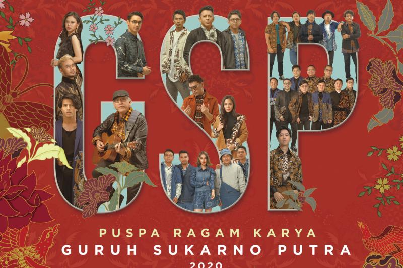 """Album """"Puspa Ragam Karya Guruh Sukarno Putra 2020"""" dibuat format vinyl"""