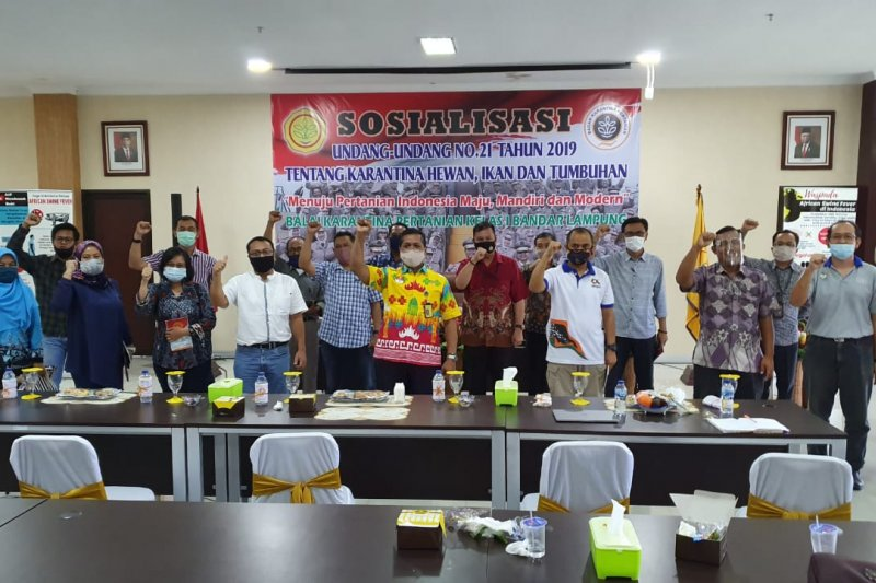 Karantina Pertanian sosialisasikan undang-undang tentang karantina