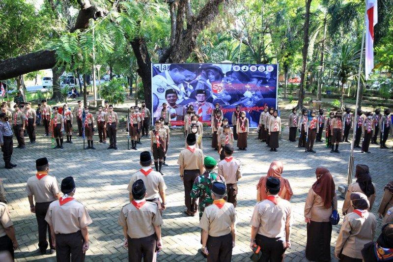 Pramuka Makassar perlu berperan aktif membantu penanganan COVID-19