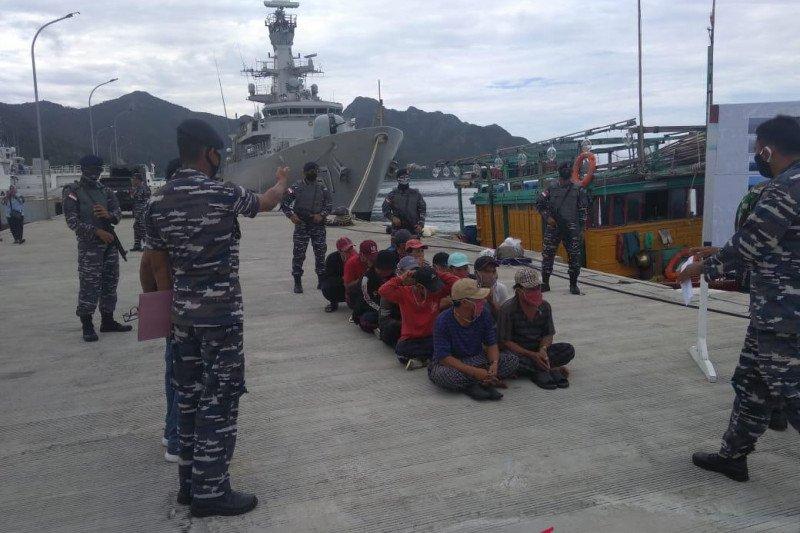 KRI kembali tangkap 2 KIA di laut  Natuna