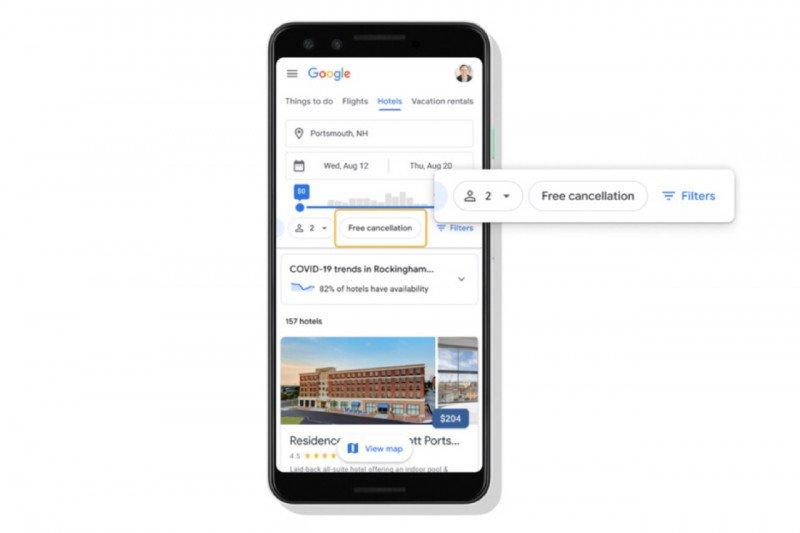 Google Travel hadirkan fitur rencana perjalanan