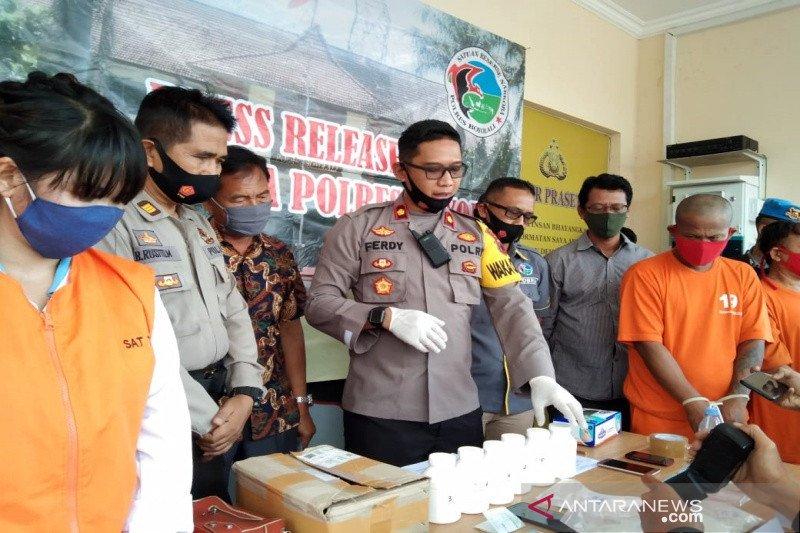 Polres Boyolali periksa empat orang terlibat kasus narkoba