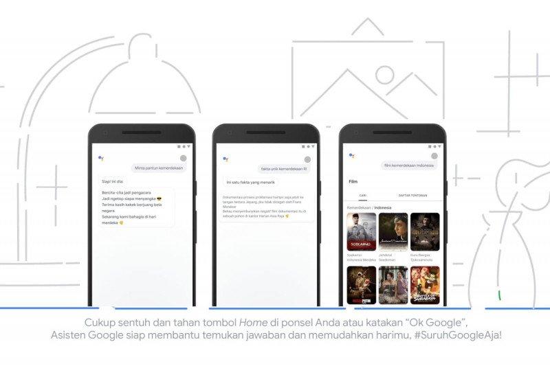 Google bagikan tips seru 17 Agustusan di rumah