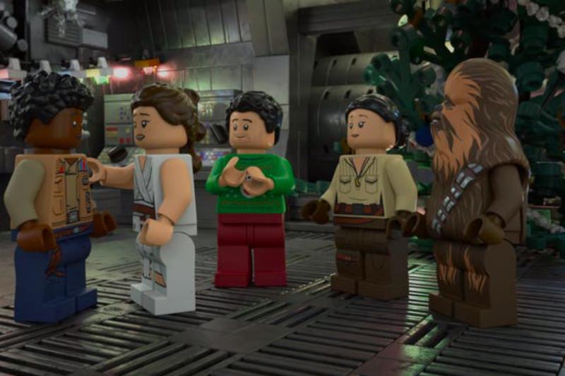 'Star Wars' Lego spesial liburan akan tayang di Disney+