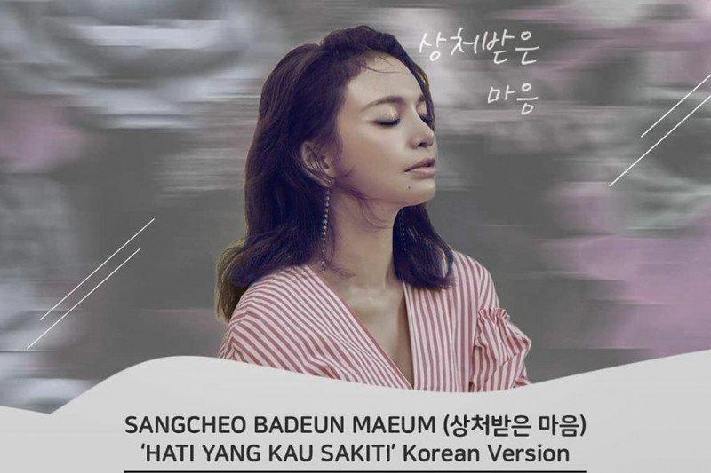 "Ini cerita Rossa nyanyikan ulang ""Hati Yang Kau Sakiti"" versi Korea"