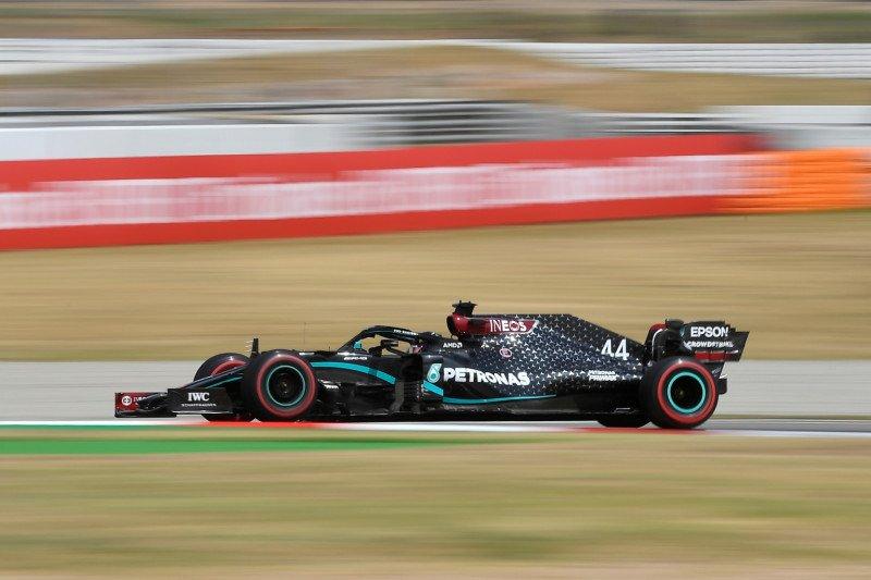 Hamilton  pole position GP Spanyol