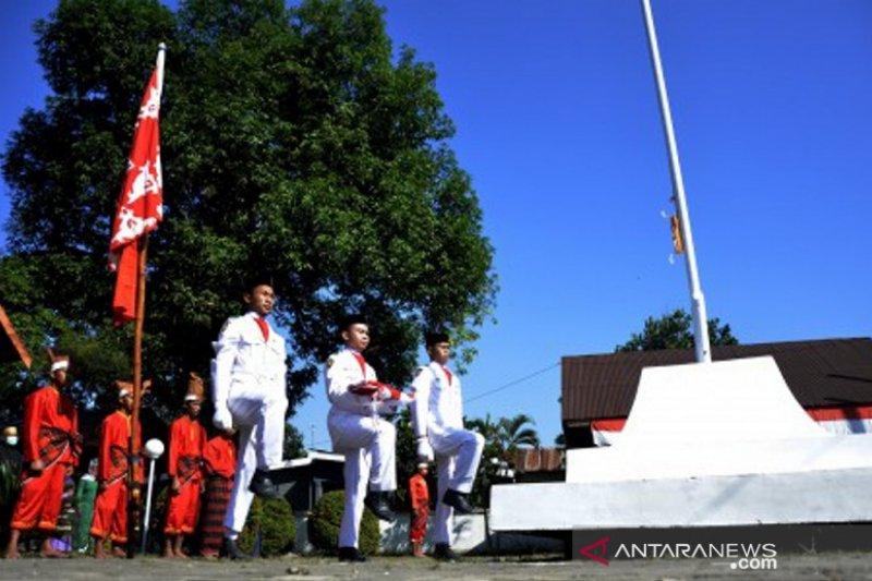 Perayaan HUT RI kerajaan Bajeng Gowa