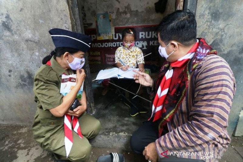 Kunjungan Guru Bertema HUT Kemerdekaan RI