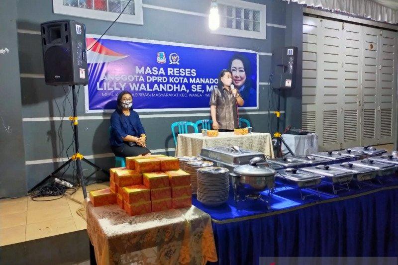 Ketua Komisi IV DPRD Manado Jemput Aspirasi Warga Wenang-Wanea di Tanjung Batu