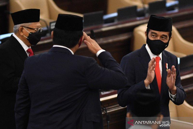 Presiden Jokowi : pembangunan 2021 didukung pendapatan Rp1.776,4 triliun