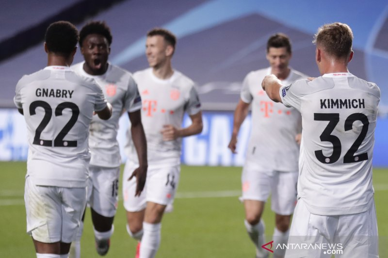 Liga Champions,Bayern menggila, hantam Barca 8-2