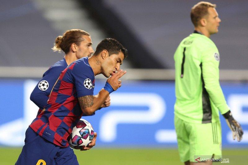 Berakhir di Barca, Luis Suarez resmi pindah ke Atletico Madrid