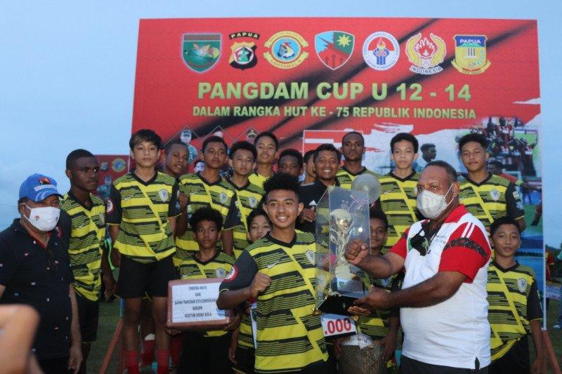 SSB Papua United juara piala Pangdam Cup