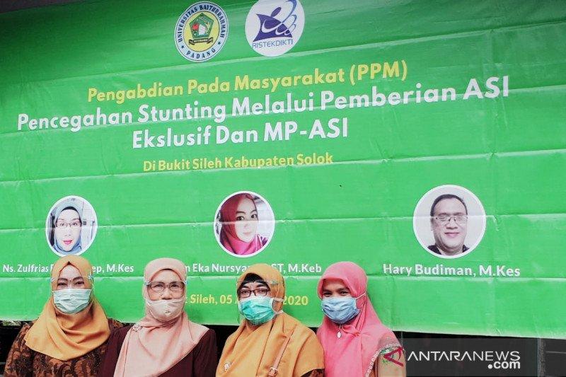 Pencegahan Stunting Melalui Pemberian ASI Ekslusif Dan MP- ASI Di Bukit Sileh Kabupaten Solok