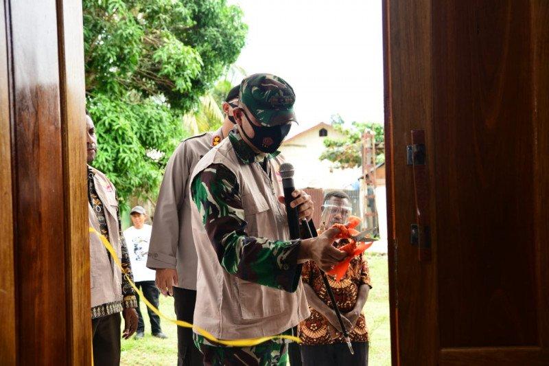 Kodim Nabire-YTBN sediakan asrama siswa SD Negeri Muko