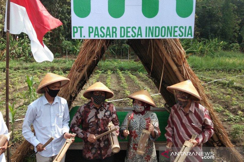Menteri Desa meresmikan Pasar Desa Indonesia berbasis Bumdes di Bantul