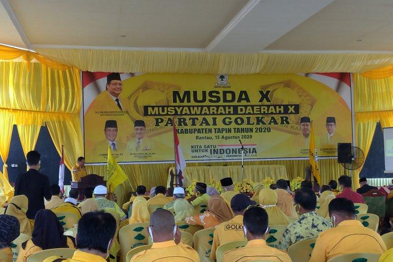 DPD Partai Golkar Tapin laksanakan Musda X