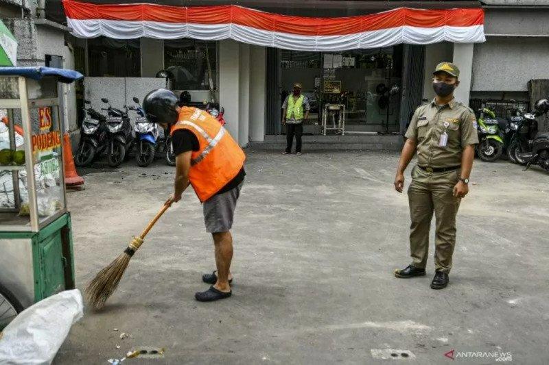 Penggunaan masker tidak benar ditindak di DKI