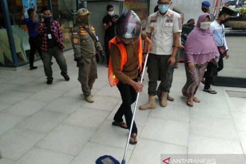 Kota Sukabumi terapkan sanksi ke warga tidak pakai masker