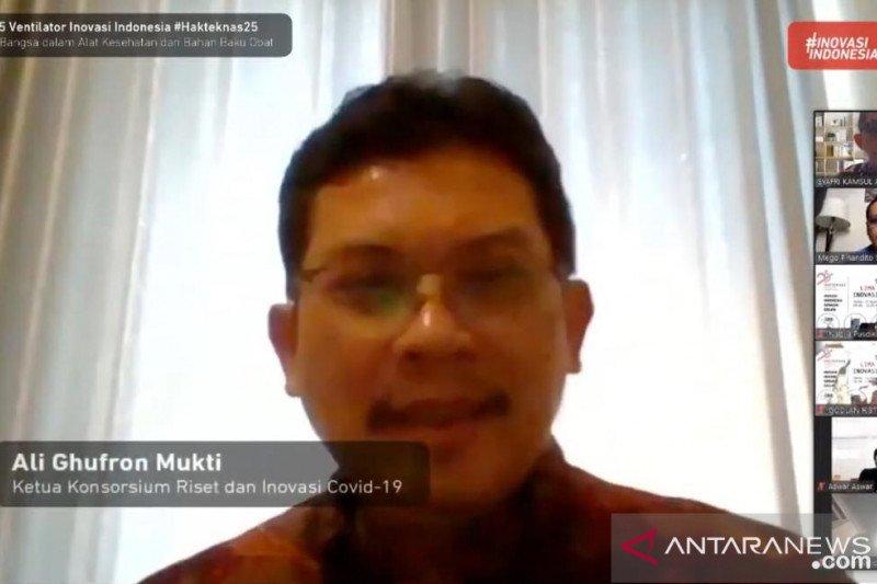 Indonesia hasilkan lima ventilator  inovasi mendorong kemandirian bangsa