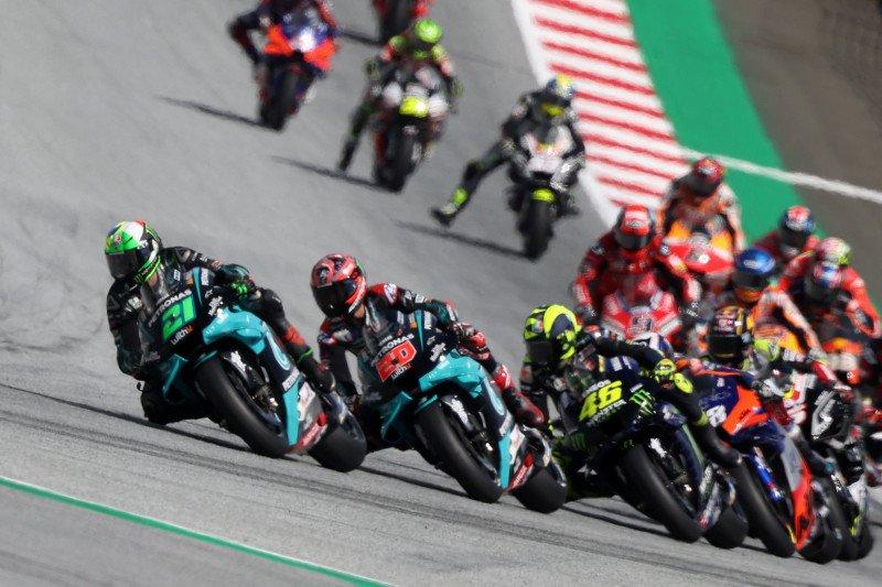 Pesan Rossi setelah tabrakan mengerikan di GP Austria