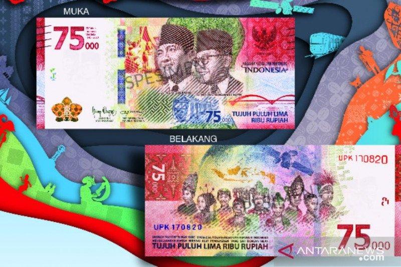 BI sebut lebih dari 9.000 cabang bank layani penukaran uang kertas Rp75.000