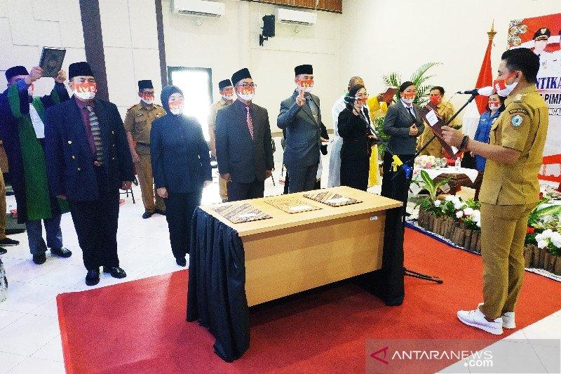 Ini empat pejabat baru yang dilantik Bupati Kotim