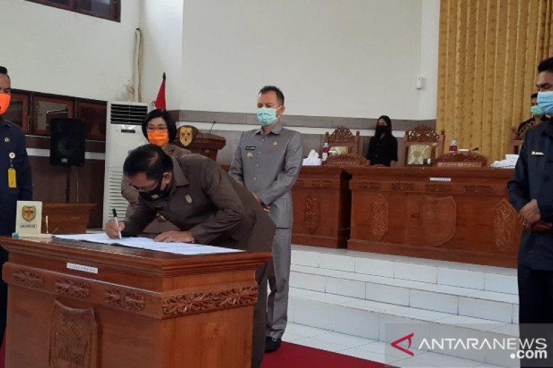 DPRD Gumas setuju dua raperda menjadi perda