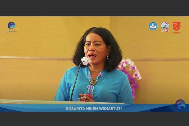 Kominfo minta anak Indonesia tetap semangat belajar meski pandemi COVID-19