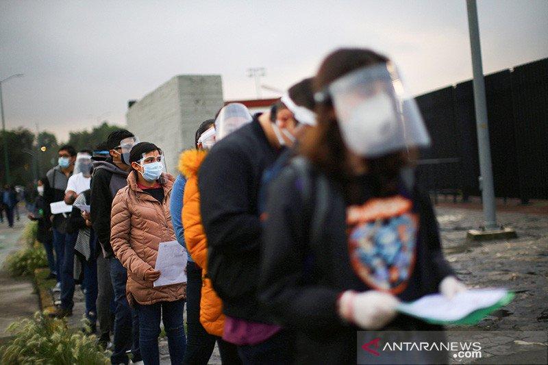 Meksiko lampaui 700.000 kasus corona yang dikonfirmasi
