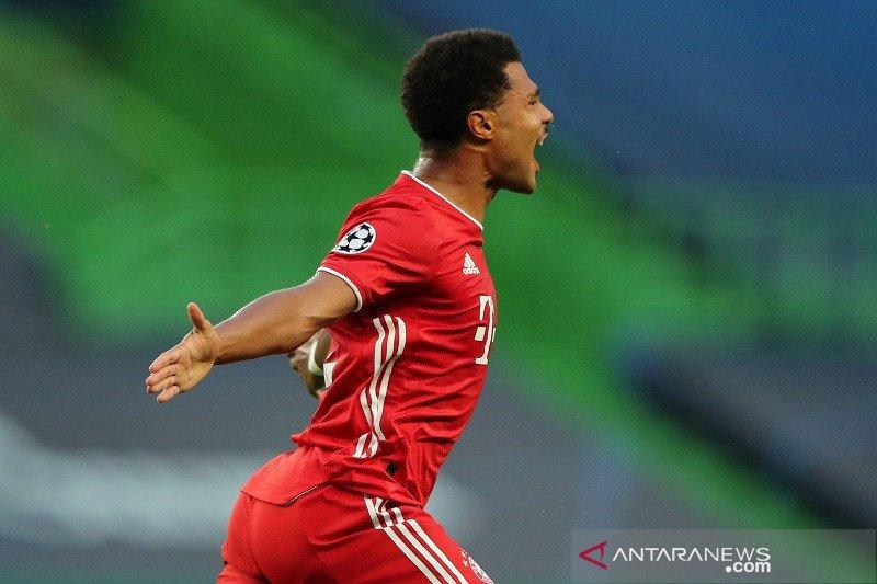 Serge Gnabry positif COVID-19 tak bisa perkuat Bayern