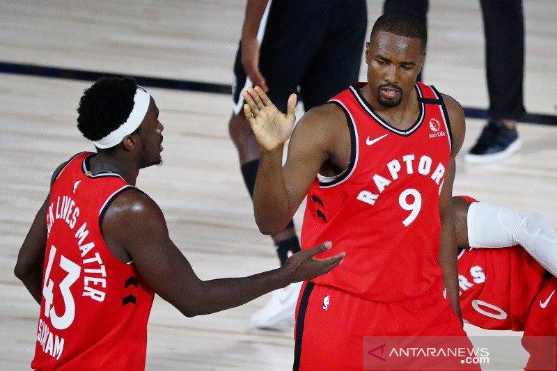 Toronto Raptors di ambang semifinal Timur setelah menang gim ketiga lawan Nets