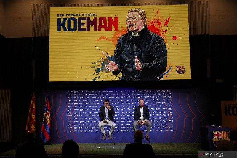 Ronald salahkan VAR atas kekalahan Barcelona di El Clasico