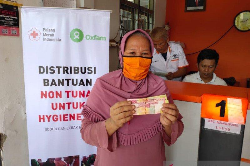PMI salurkan bantuan non-tunai bagi korban longsor Lebak dan Bogor
