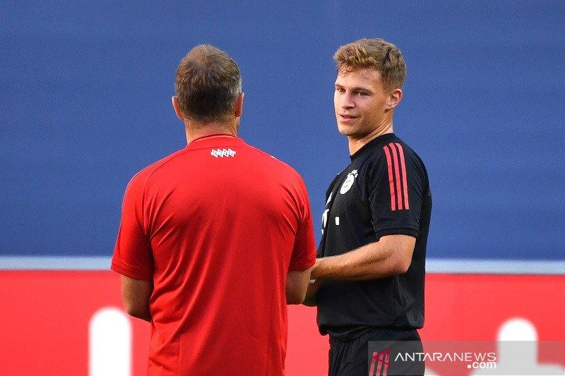 Kimmich yakin Bayern Munchen tak akan main bertahan lawan PSG