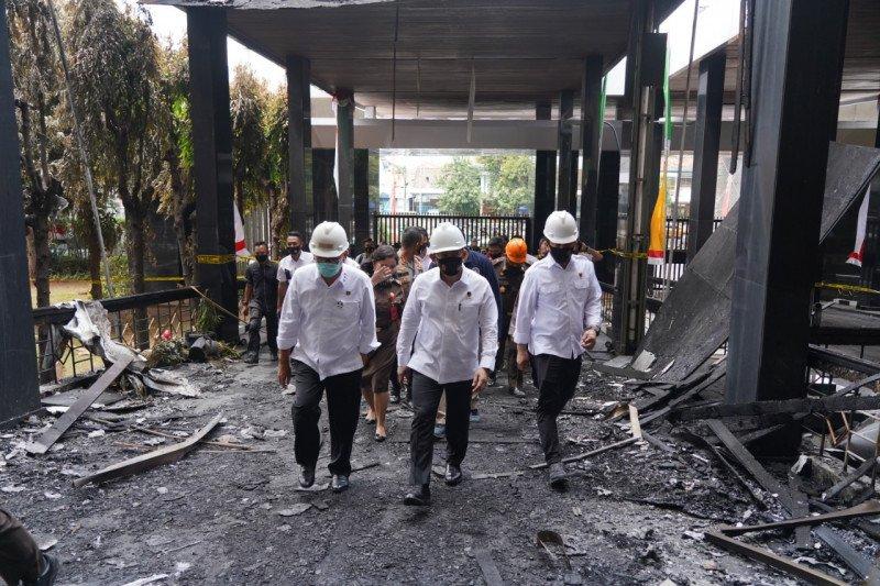 Bareskrim temukan dugaan pidana  dalam kebakaran Gedung  Kejaksaan Agung