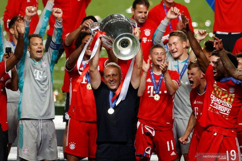 "Juergen Klopp puji keberhasilan Flick ukir ""treble"" bersama Bayern Munich"