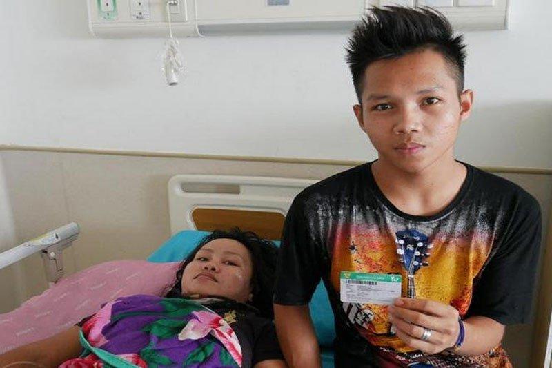 Warga ini merasa beruntung, biaya pengobatannya ditanggung  JKN-KIS