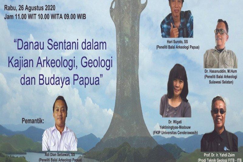 Bupati Jayapura apresiasi webinar danau Sentani dalam kajian Arkeologi budaya Papua