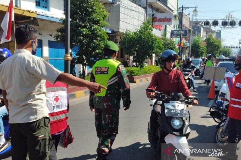 Satgas Cianjur menjaring 171 orang tidak pakai masker